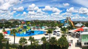 The Encore Resort Water Park and Clubhouse.
