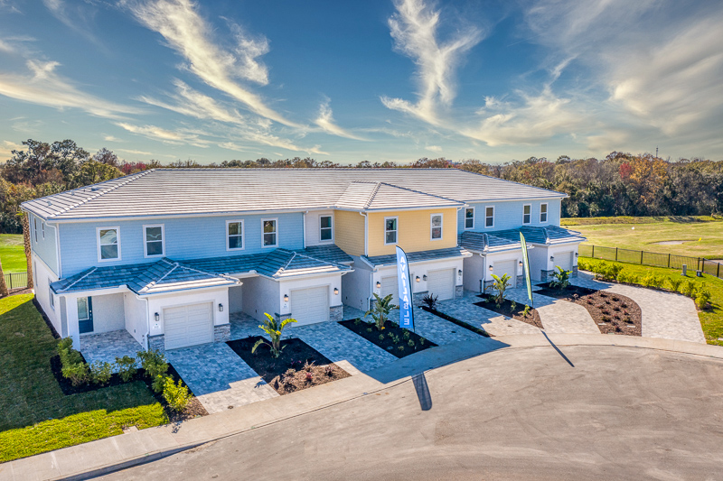 Luxury townhomes at Eagle Trace Resort Orlando.